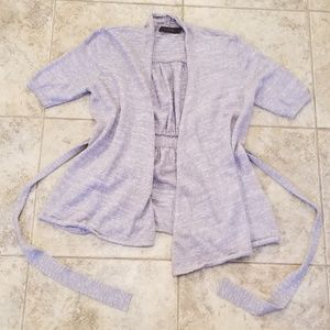 The Limited Great Condition Gray Knit Cardigan